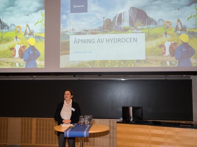 Alexandra Bech Gjørv konsernsjef i SINTEF. Foto Øyvind Buljo NTNU