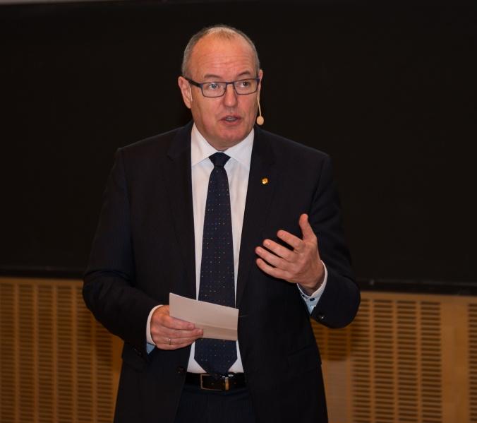 Gunnar Bovim, rektor NTNU