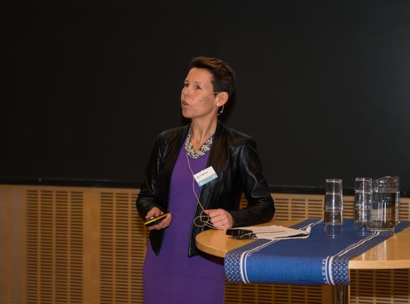 Norunn Myklebust direktør i Norsk institutt for naturforskning (NINA). NINA er en av hovedforskningspartnerne i HydroCen. Foto Øyvind Buljo, NTNU