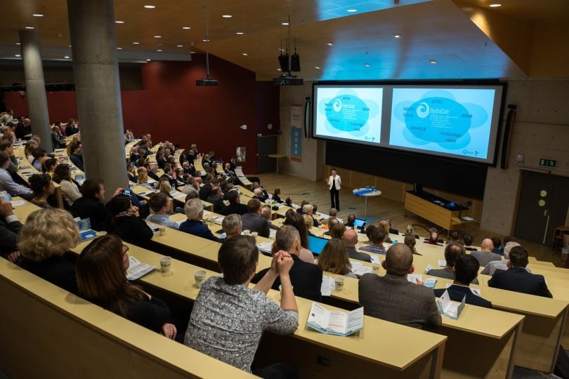 200 fremmøte da forskningssenteret HydroCen åpnet i Trondheim 30. januar