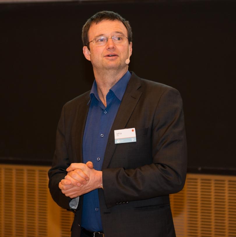 Professor Leif Lia ved NTNU skal lede HydroCens forskning på vannkraftkontstruksjoner. Foto: Øyvind Buljo, NTNU