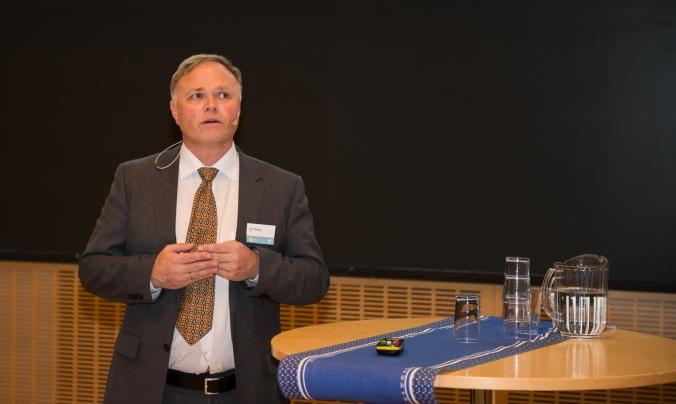 Professor Arne Nysveen ved NTNU leder HydroCens forskning på turbin og generator. Foto: Øyvind Buljo