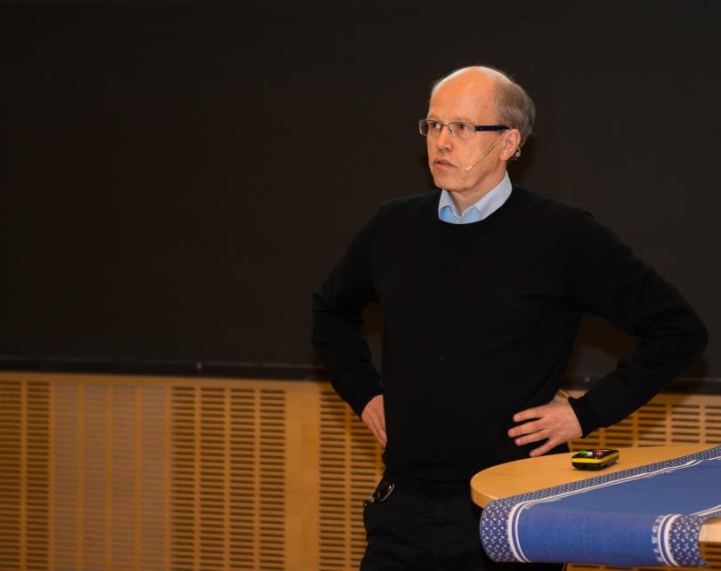Birger Moe fra SINTEF Energi skal lede HydroCens forskning på marked og tjenester. Foto: Øyvind Buljo, NTNU