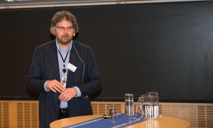Torbjørn Forseth fra NINA skal lede HydroCens forskning på miljødesign. Foto: Øyvind Buljo, NTNU