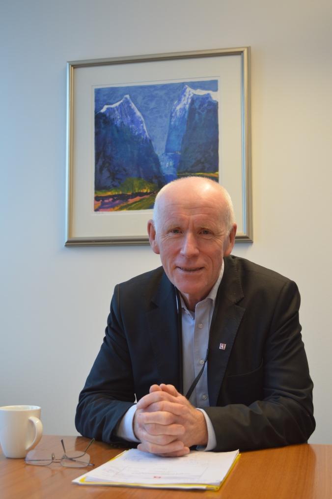 Per Sanderud, direktør for Norges vassdrags- og energidirektorat (NVE). Foto: Tore Halvorsen