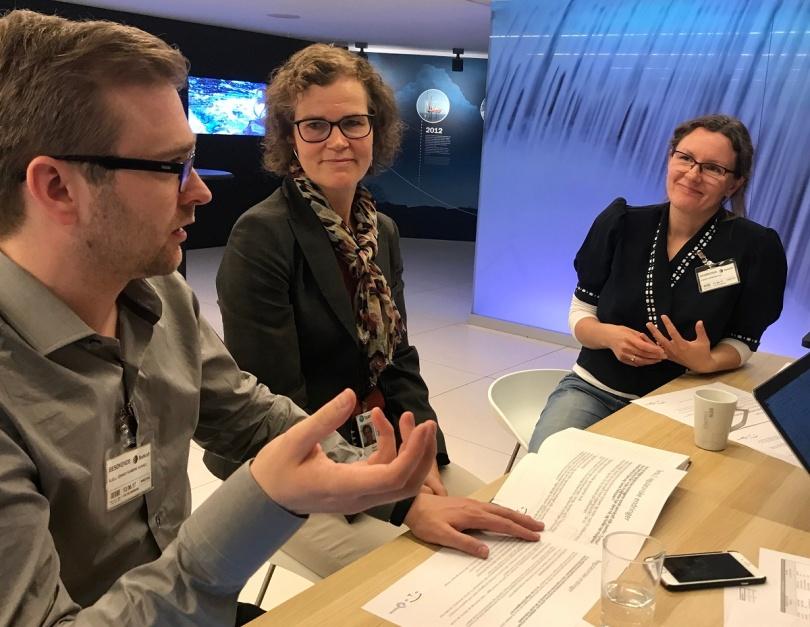 Workshop HydroCen T.3.1-juni 2017-Kjell Johnny Kvamme-Ragne Hildrum-Karen Lindberg-Foto-Astrid Bjerkås HydroCen